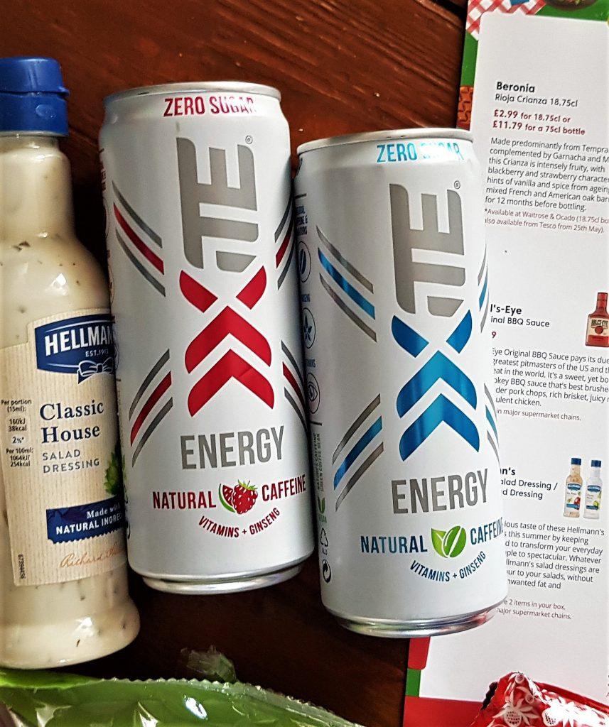 May 2020 Degusta Box Xite Energy Drinks