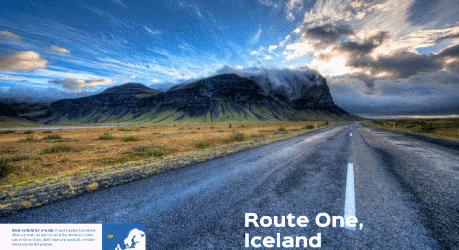Iceland's Route One
