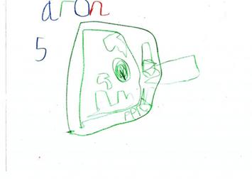 Aron, 5, idea for a room theme