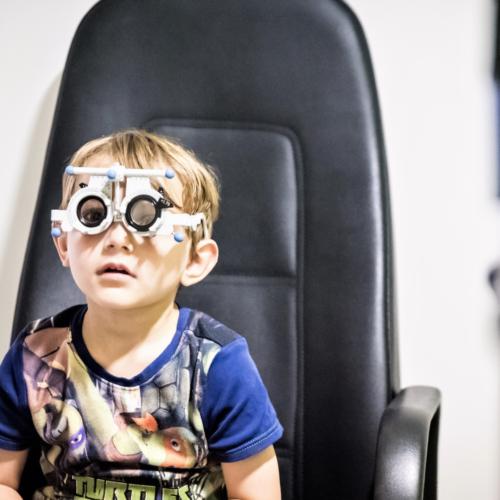 Child's first eye test