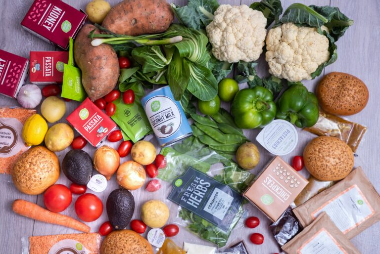 HelloFresh fresh ingredients delivered straight to your home