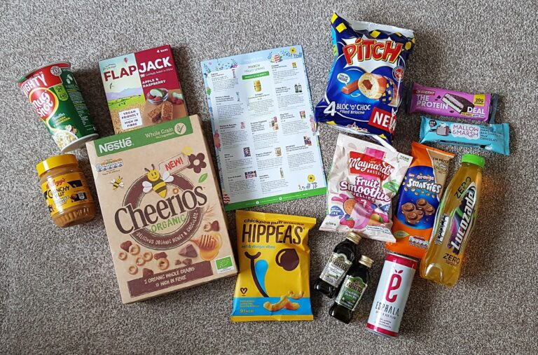 March Hello Spring Degusta Box 2021 - Food items