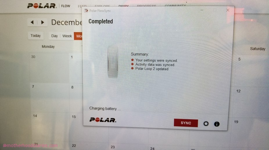 Get active with the Polar Loop 2 and Polar H7 Heart Rate Sensor – includes full set up guide and Part 1 of 3, December training activity