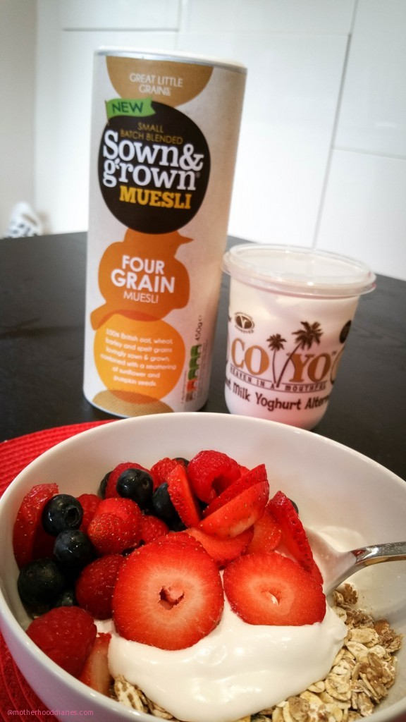 Boost your breakfast with Sown & Growns fresh new cereal range - Plus competition to win the entire 6 box range!