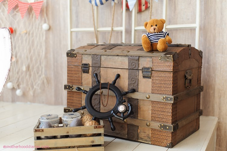 Create the ultimate pirate bedroom for your little buccaneer