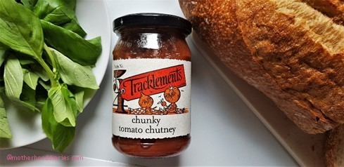 Easy Tomato Chutney Bruschetta Recipe