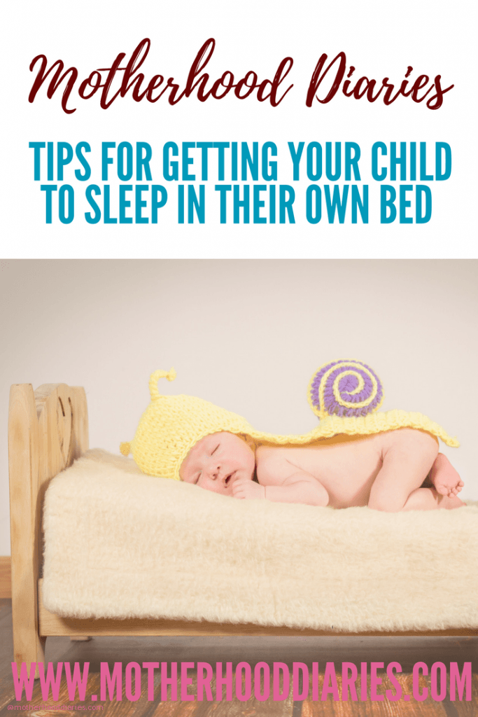 Tips for getting your child to sleep in their own bed