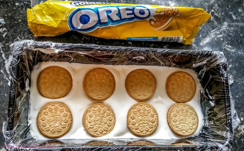 Golden & Peanut Butter Oreo Vienetta Ice Cream Recipe