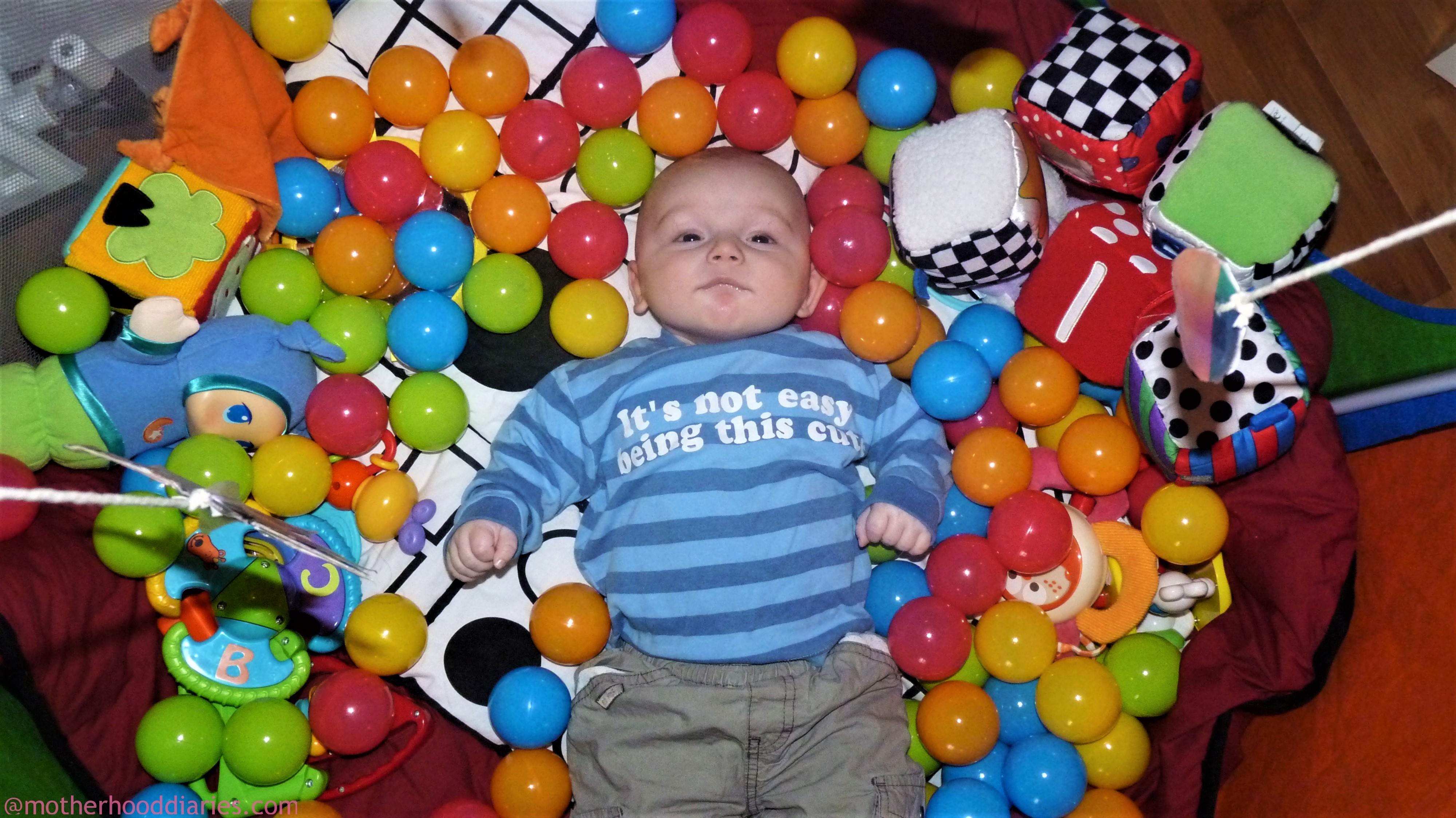 15 weeks old - is Aron teething already?