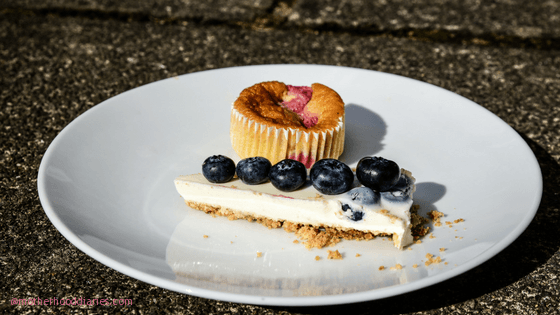 Lemon & Blueberry Cheesecake Recipe