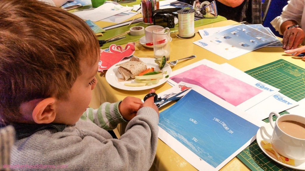 Finding (and making) Dory at Epson's #PrintingDory Event