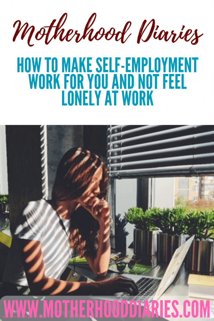How to make self-employment work for you and not feel lonely at work