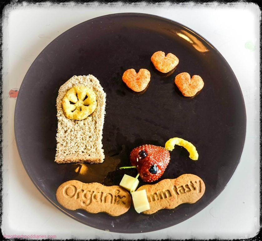 Nursery Rhymes Finger Food Creations with Organix
