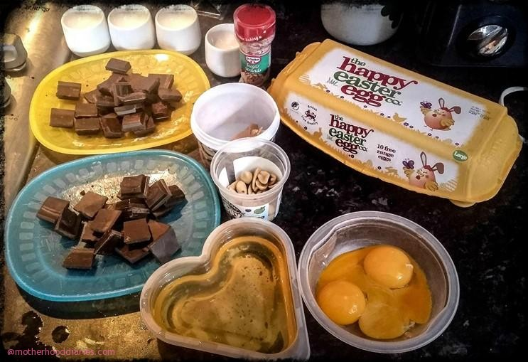 Easter Peanut Butter & Chocolate Egg Cups Plus Easter Egg & Nest Activity