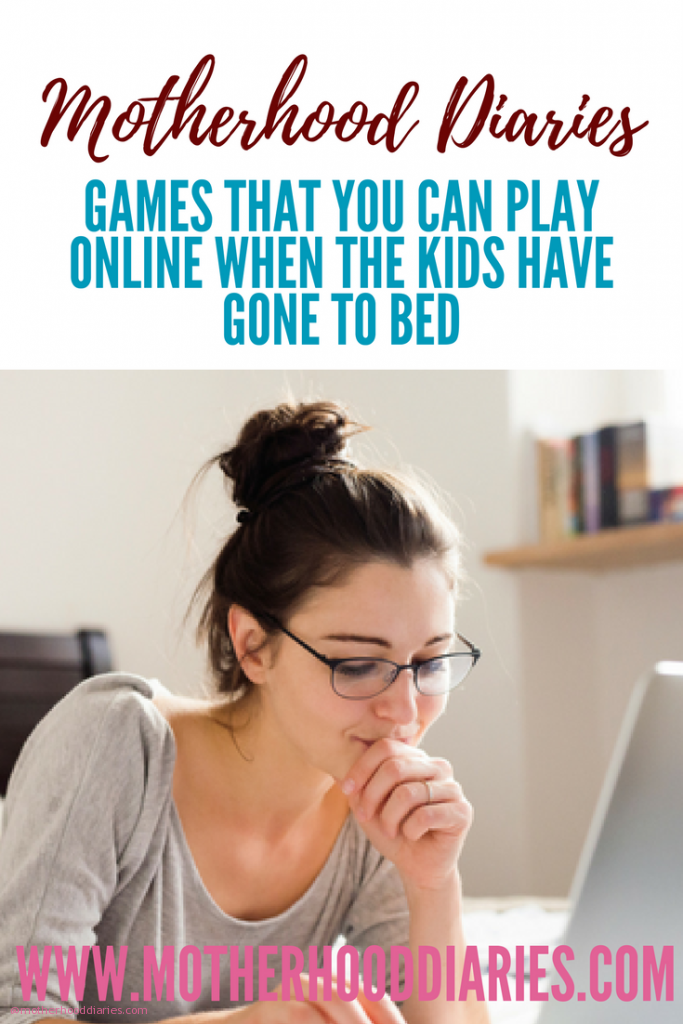 Games that you can play online when the kids have gone to bed