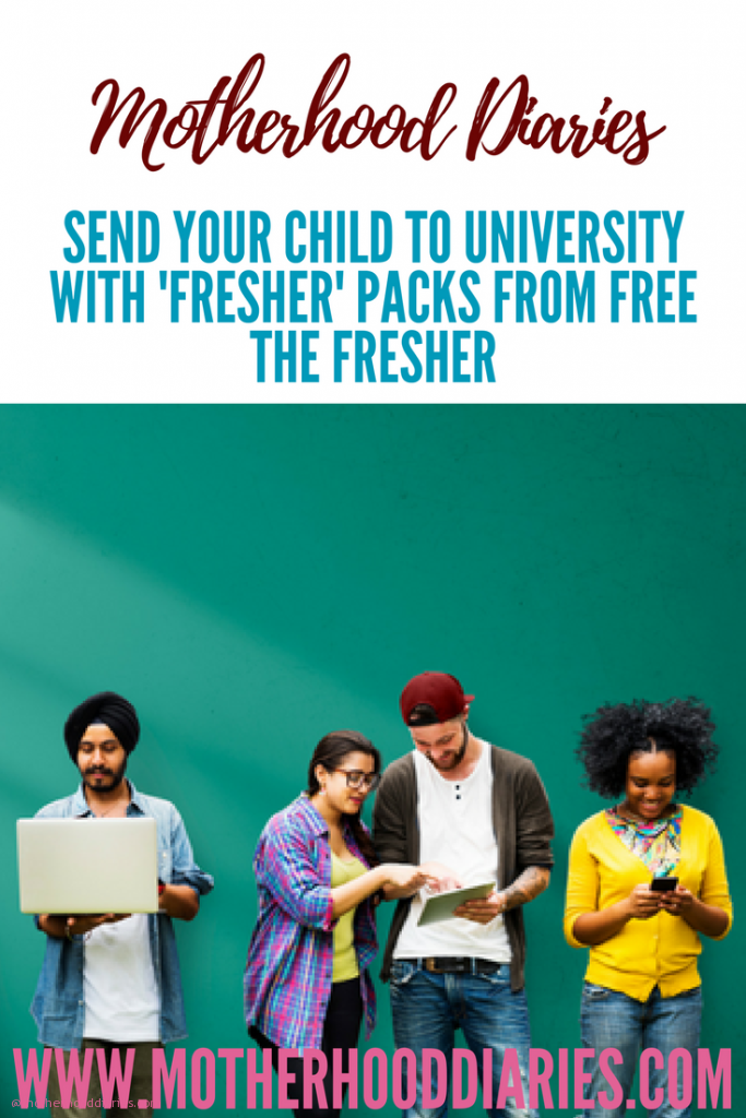 Send your child to university with Fresher Packs from Free the Fresher
